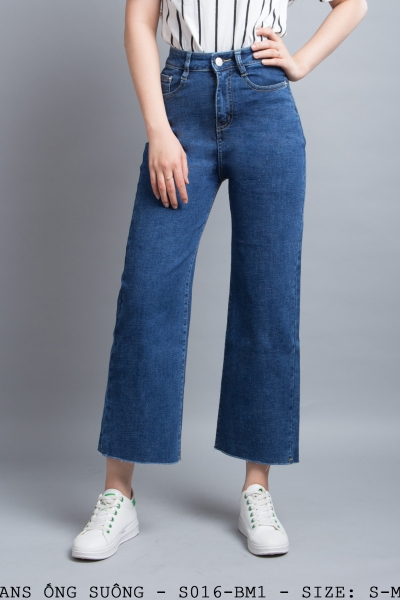 JEANS ỐNG SUÔNG - S016