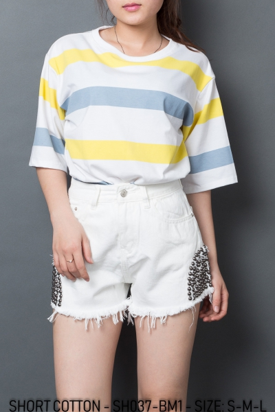 SHORT COTTON - SH037